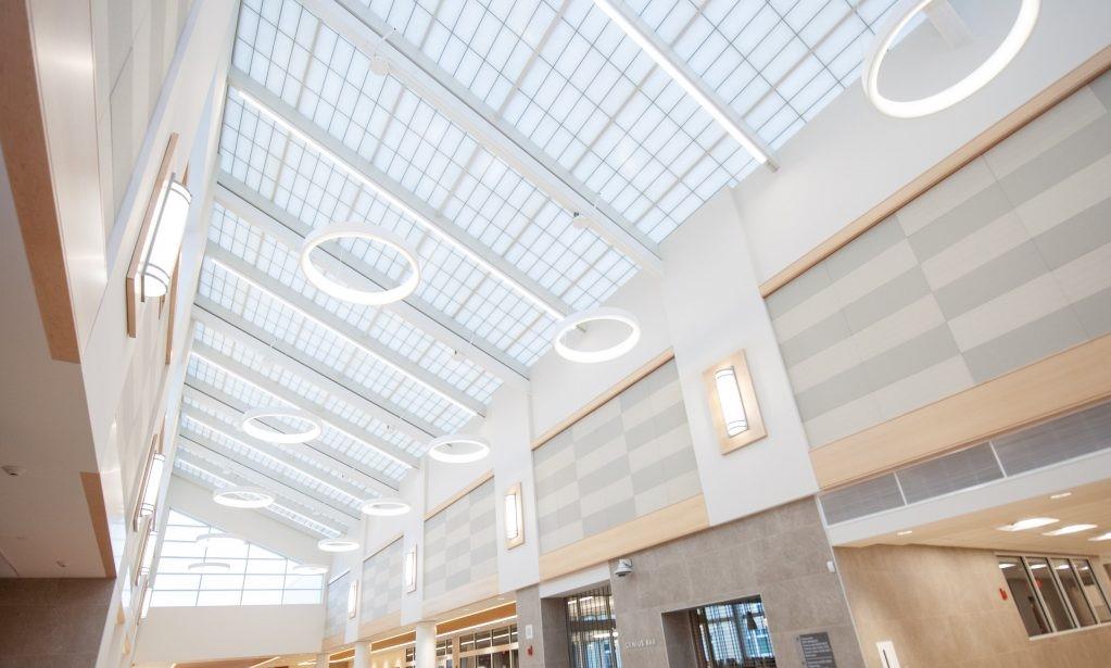 Skylights, Stoughton High School, Stoughton, MA